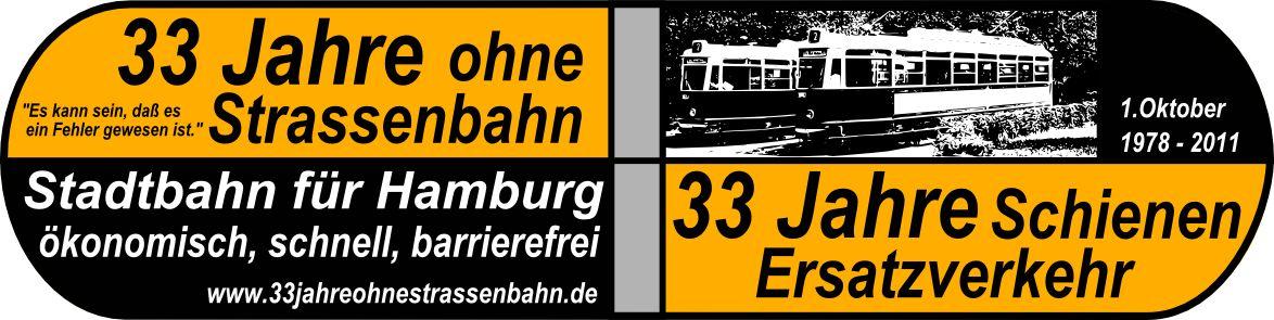 33 Jahre ohne Strassenbahn, 33 Jahre Schienenersatzverkehr